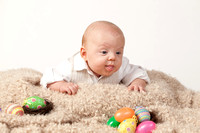 Little Mike - Easter Photos